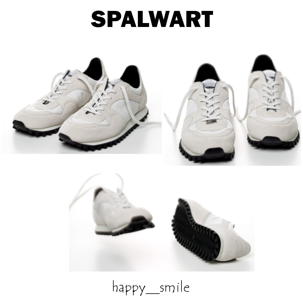 §SPALWART§ 国内発送 Marathon Trail Low Mesh - White 0000