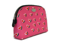 【返品可/国内発送】COACH Heart Print Cosmetic Case F52685