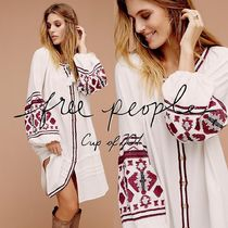 Free People(フリーピープル) チュニック 1枚で差をつける!In the Clear Embroidered Maxi