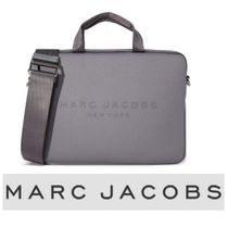 MARC JACOBS(マークジェイコブス) バッグ・カバンその他 MARC JACOBS★ 15インチ2way パソコンバッグ グレー【関/送込】