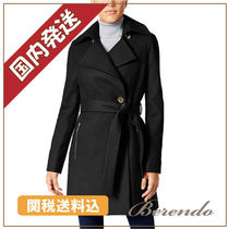 Michael Kors(マイケルコース) コート 国内発送★Michael Kors Wool-Blend Belted Walker Coat コート