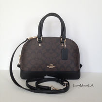 【COACH】人気☆ミニドーム型 SIERRA SATCHEL 2way F37232☆