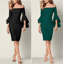 Venus*SLEEVE DETAIL DRESS
