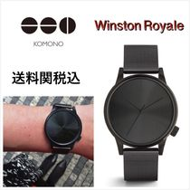 送料関税込・国内発送☆Komono☆Winston Royale Black 41mm