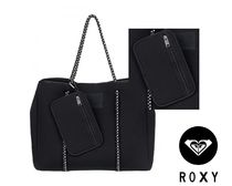 【ROXY】Salty Candy Tote Bag★トートバッグ★ネオプレン素材