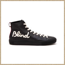 GUCCI(グッチ) スニーカー 17SS新作【GUCCI】BLIND FOR LOVE ハイトップ スニーカー