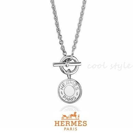Hermes crude cell necklace