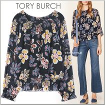 17SS★Tory Burch シルク 2WAY フローラル柄 ブラウス INDIE