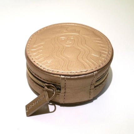 Starbucks coin Pouch gold