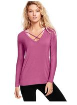 ★exotic pink★NEW! Super Soft V-Neck Tee