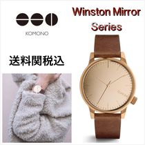 送料関税込・国内発送☆Komono☆Winston Mirror Rose Gold 41mm