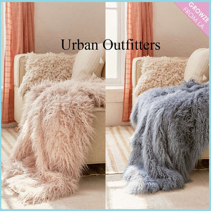 Urban Outfitters soft fur blanket only