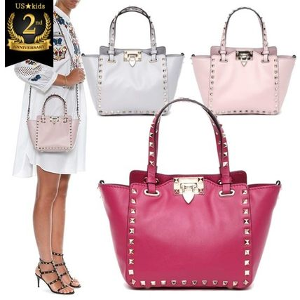 Deployment VALENTINO rock studded small tote ♦ ♦