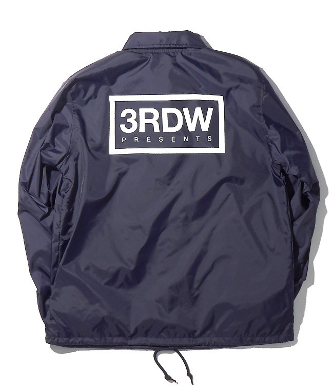 ◆thirdweave◆ TRDW NYLON WINDBREAKERE 2色