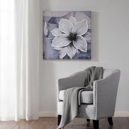 Madison Park Dusty Bloom pictures skin processing canvas art