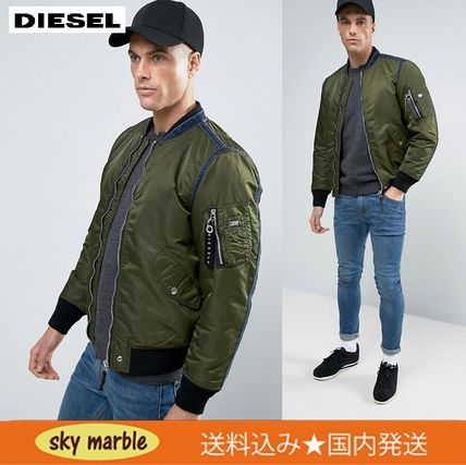 DIESEL J-HOWLER/MA1 bomber jacket and only