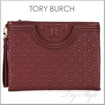 17SS★Tory Burch フレミング クラッチ FLEMING LARGE POUCH