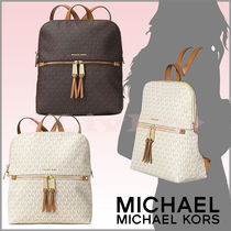 【Michael Kors】大人気『リア』の新作Zip Slim Backpack