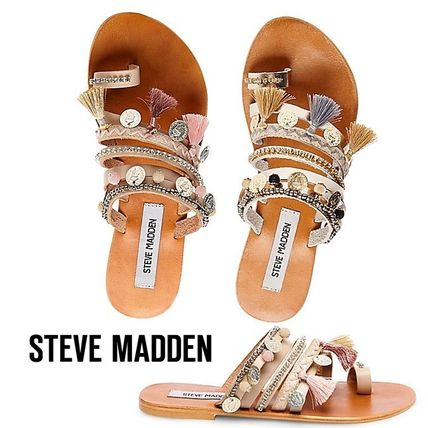 With Steve Madden RIPPEL boho flat sandals