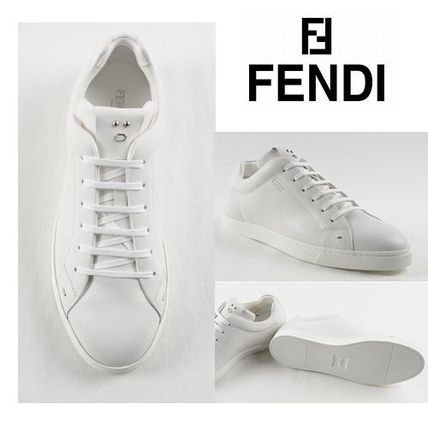 FENDI FENDI FACE LOW SNEAKERS