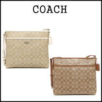 【即発★3-5日着】COACH★ Signature FILE BAG★F34938