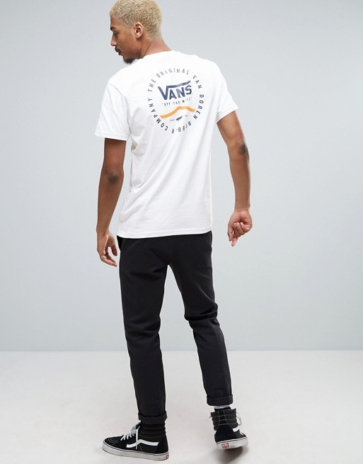【国内発送/送関込】VANS Rubber Co T-Shirt In White
