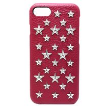 iPhone7【enchanted.LA】BRILLIANT STAR STUDDED COVER チェリー