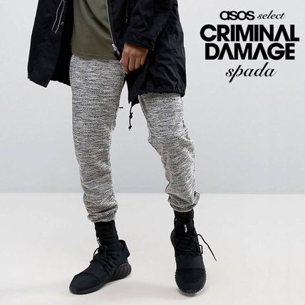 SALE Criminal Damage Jogger pants black /