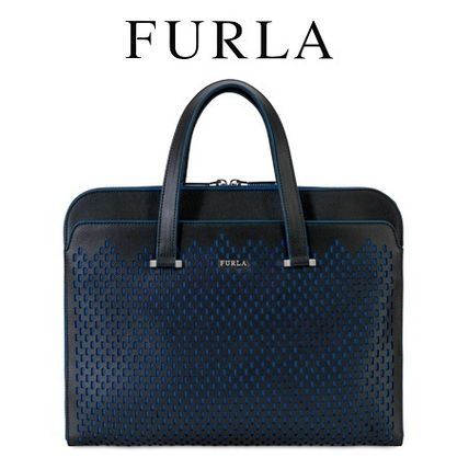 FURLA MAN VULCANO document back ONYX #867387