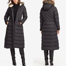 関税&送料込★ラルフ Faux Fur  LONG QUILTED DOWN COAT