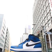 "[NIKE]AIR JORDAN 1 RETRO HIGH RARE AIR""SOAR BLUE""【送料込】"