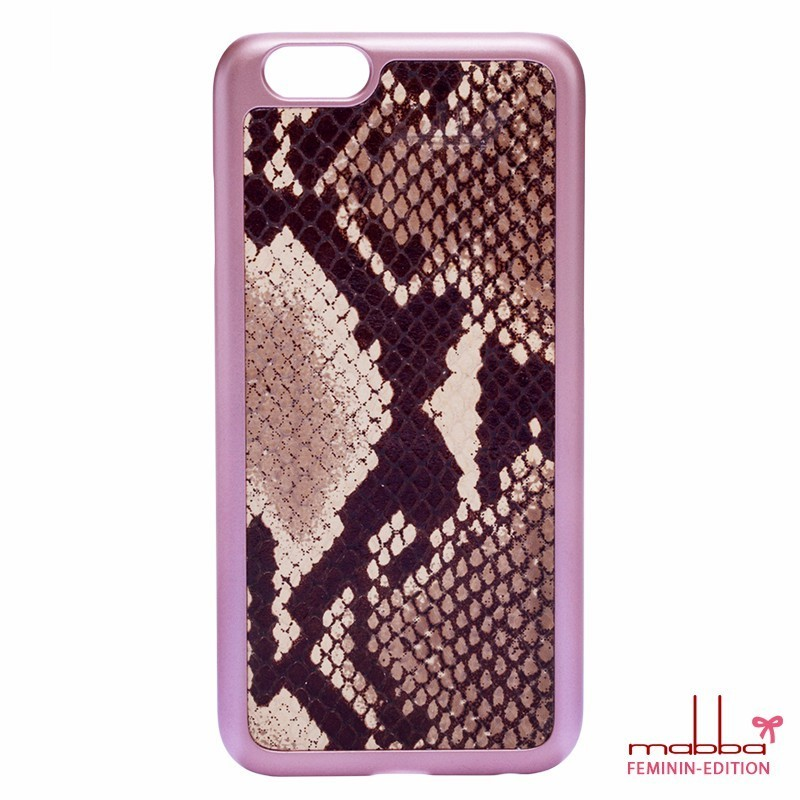 ☆mabba☆iphone6sケース☆レザー☆Snake Natural☆2色☆