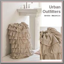 Urban Outfitters(アーバンアウトフィッターズ) バス・ランドリー Urban Outfitters 新作! 可愛いフリルランドリーバッグ 国内発送