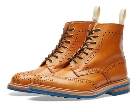 関税・送料込 END.×TRICKER'S CLUB SOLE STOW BOOT