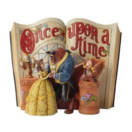 Wdcc Belle and the beast book figure