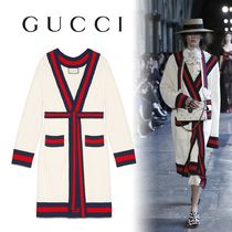 GUCCI Embroidered Oversize Cardigan