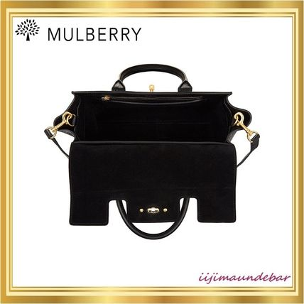 Mulberry トートバッグ 【国内発送】Mulberry/Bayswaterスモールトート【関税・送料込】(4)