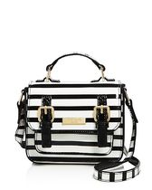 kate spade★Girls' Patent Leather Striped バッグ Black