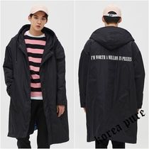 【8 X GD's PICK】Oversized Hooded Long Padding / 2color