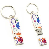 送料関税込★ToryBurch 2GB LUCK-PRINT FLASH DRIVE