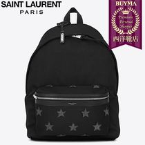 SAINT LAURENT 17SS┃CITY CALIFORNIA STARS BACKPACK
