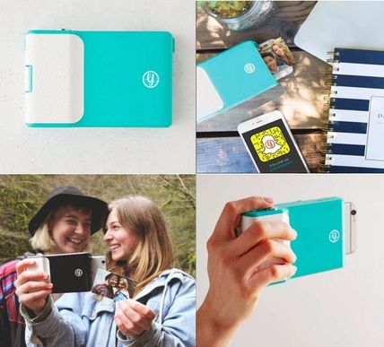 Hide photos video PRYNT iPHONE case photo printer