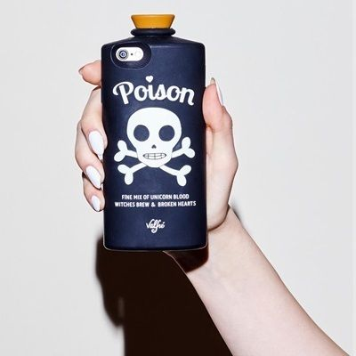 Valfre iPhone・スマホケース 即納★国内発【VALFRE】POISON 3D IPHONE CASE(BLACK)(3)