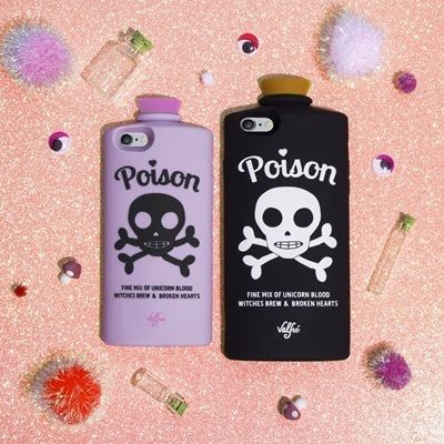 Valfre iPhone・スマホケース 即納★国内発【VALFRE】POISON 3D IPHONE CASE(BLACK)(4)