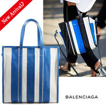 入手困難♪最新作♡BALENCIAGA Bazar Shopper M,Stripe