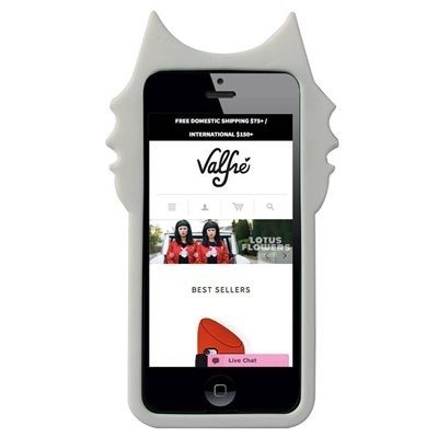 Valfre iPhone・スマホケース 即納★国内発【VALFRE】BLANCO 3D IPHONE CASE三つ目猫(2)