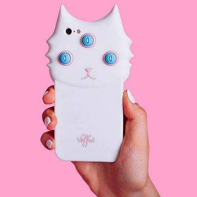 Valfre iPhone・スマホケース 即納★国内発【VALFRE】BLANCO 3D IPHONE CASE三つ目猫(4)