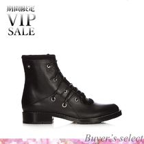 ★VIP SALE!!★Lace-up leather military boots