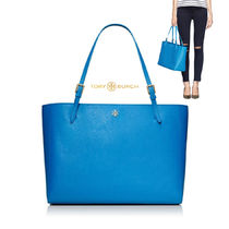 [TORY BURCH] YORK 22149613 BLUE BUCKLE TOTE トートバッグ