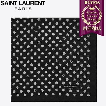 SAINT LAURENT 17SS┃POIS SCARF